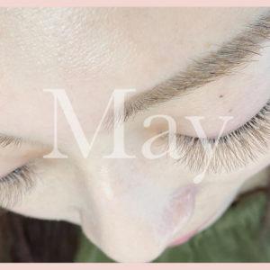 May eyelash イメージ