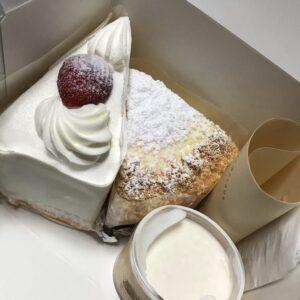 まちの手作りケーキ屋さん サンタクロース イメージ
